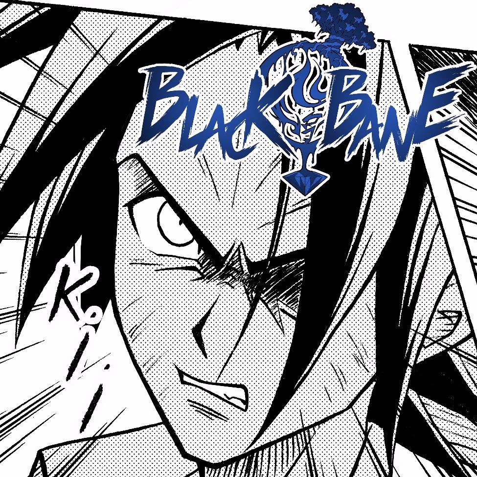 BLACK BANE MANGA