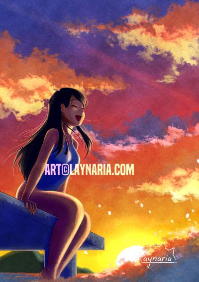 Laynaria - Illustration de Mai