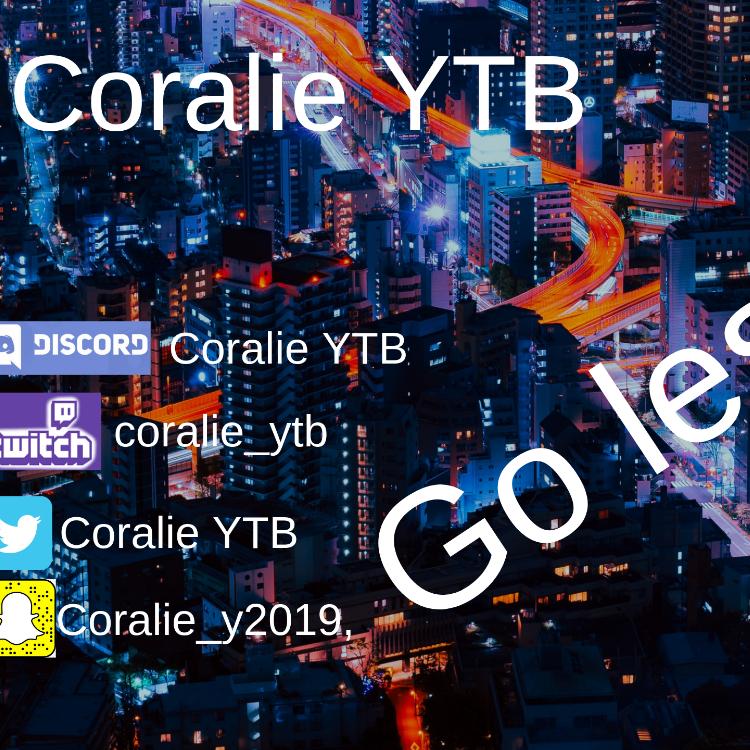 Coralie YTB